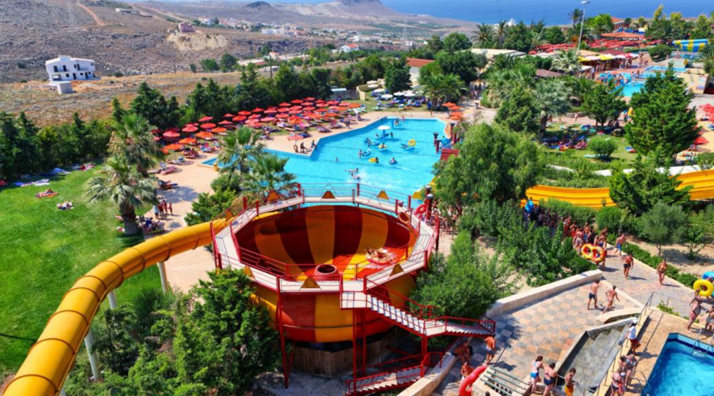 vodeni parkovi, krit, grcka, zabava, letovanje, bazeni