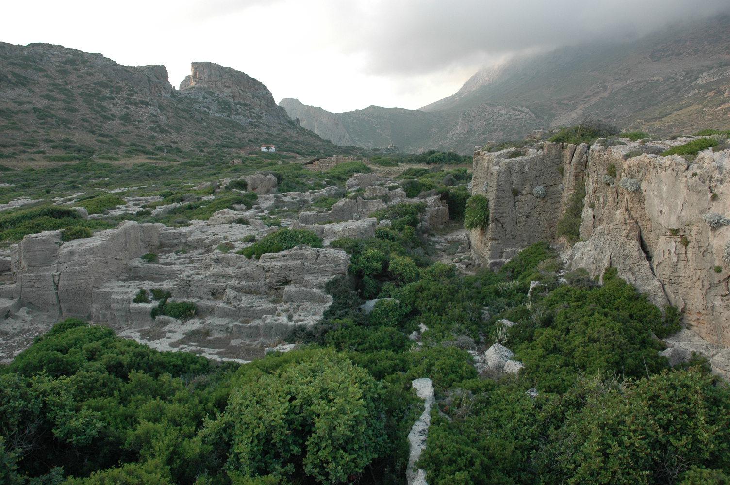 stari grad, arheološko nalazište, zidine, akropolj, hanja