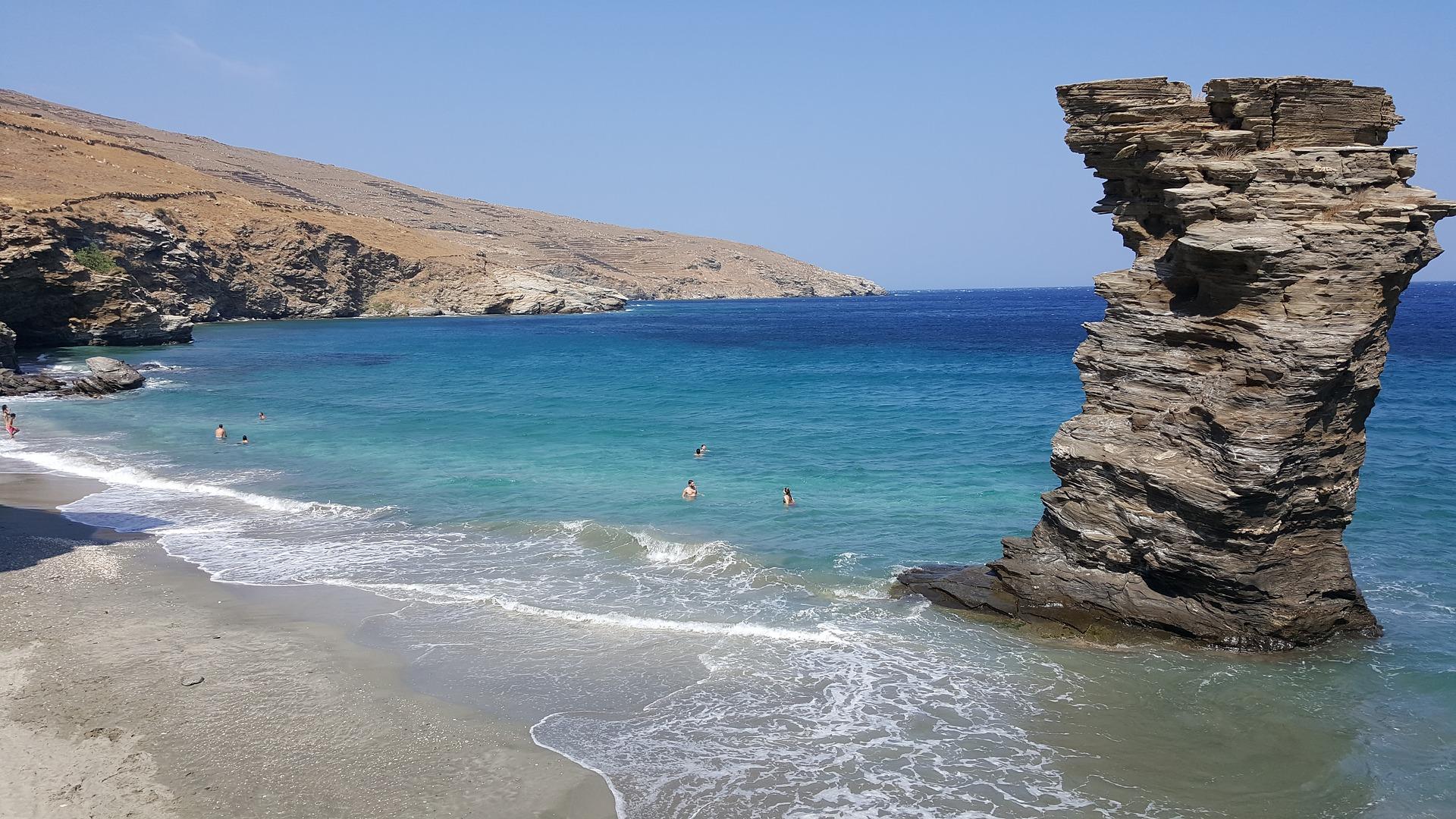 ostrvo, grcka, atina, kupanje, plaza, zanimljivosti