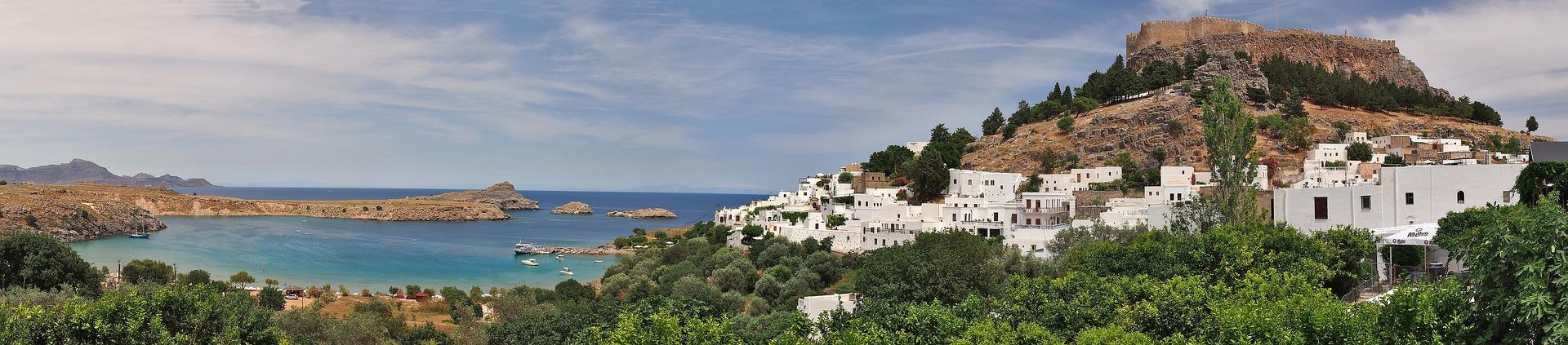 grčka, zanimljivosti, plaža, ostrvo, lindos, akropolj