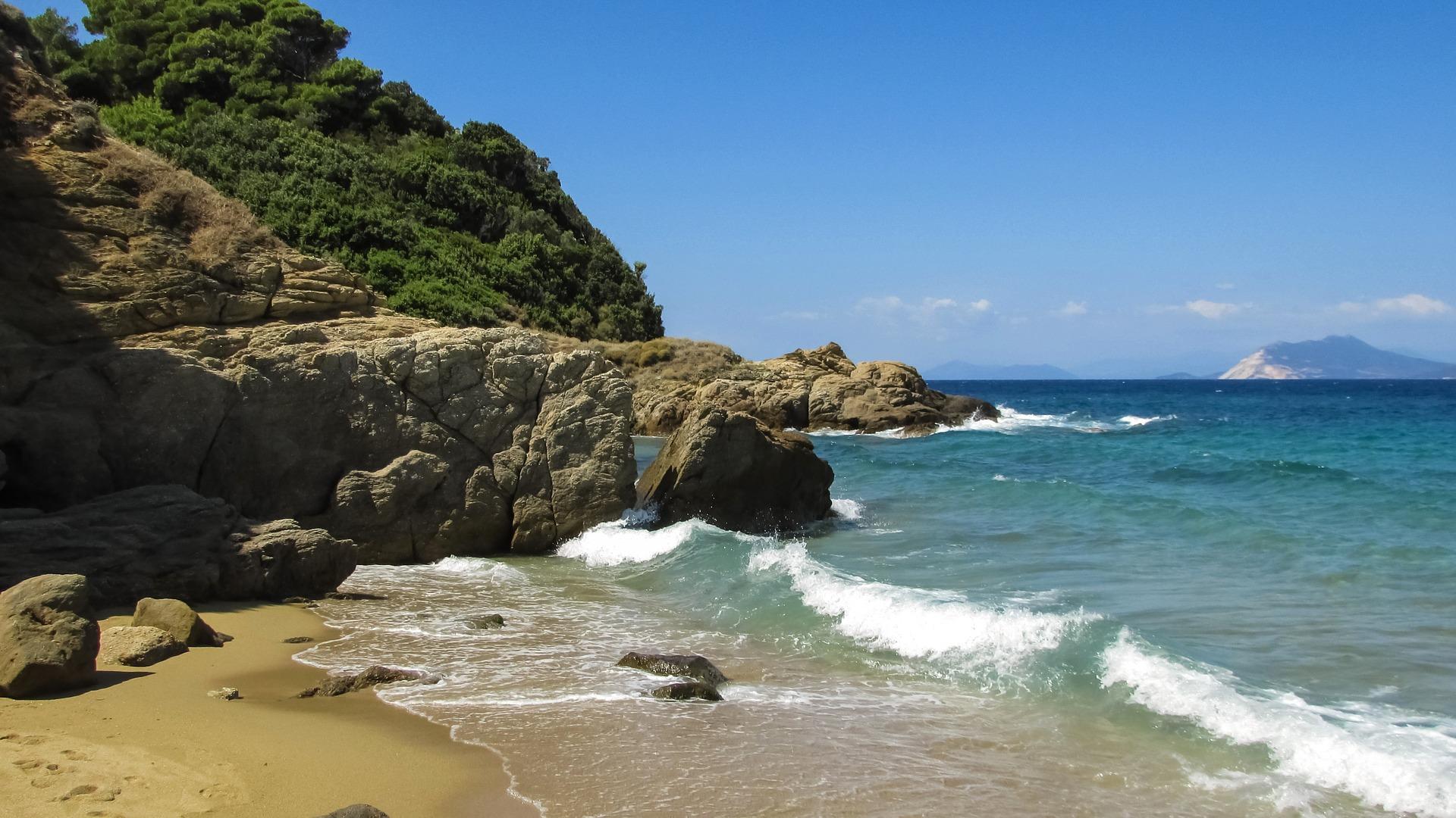 grčka, ostrvo, skiatos, plaže